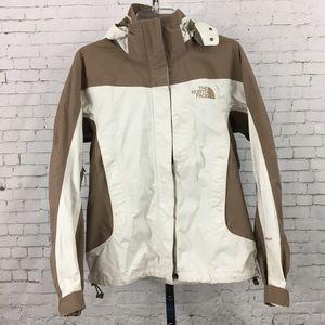 North Face women's small brown beige tan coat